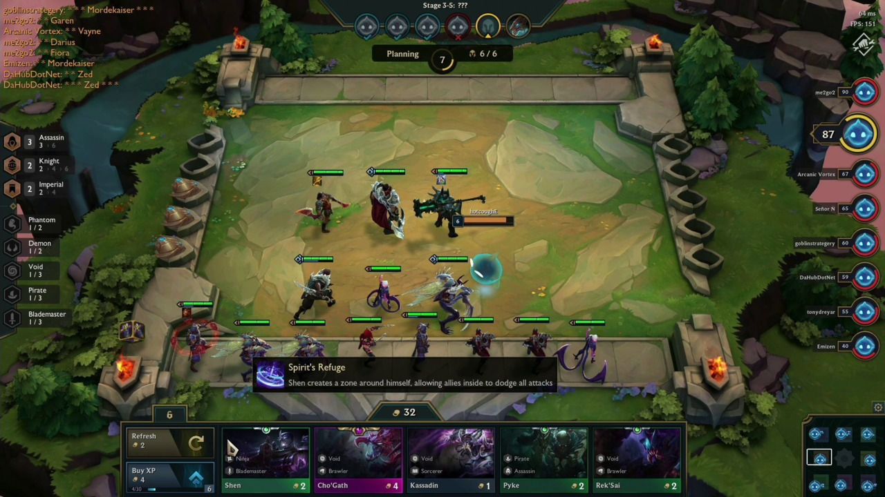 Teamfight Tactics from Riot