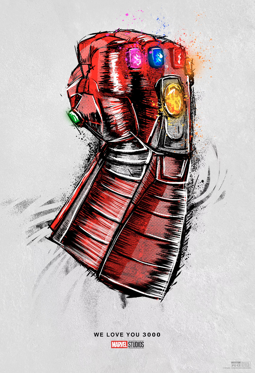 Avengers: Endgame re-release artwork
